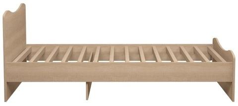 Кровать односпальная Квест 5 (комплектация 2) Ижмебель 90х190 дуб сонома светлый