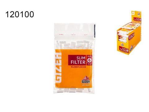 Фильтры для самокруток Gizeh Slims
