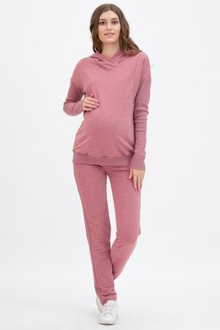 Спортивный костюм для беременных и кормящих 11498 бордовый