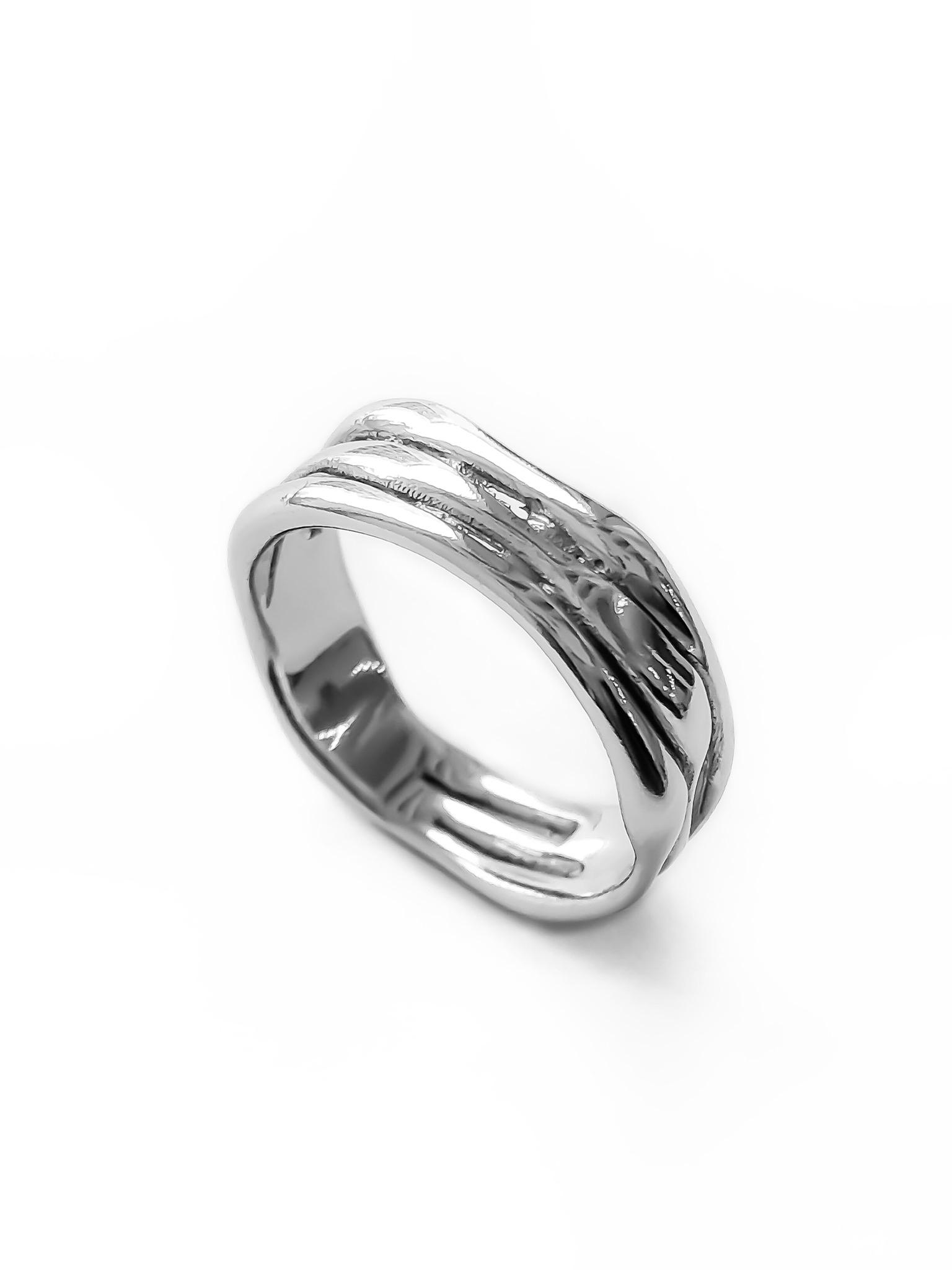 Серебряное кольцо слияние
