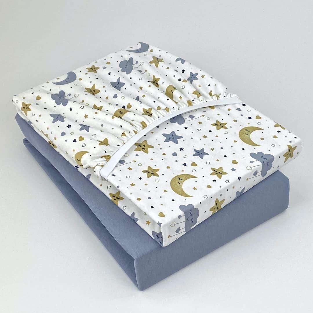 СЛАДКИЙ СОН - Детская простыня на резинке 65х125