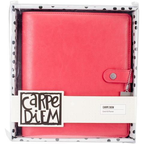 Планер-ежедневник без наполнения. Формат A5. Carpe Diem A5 Planner Coral