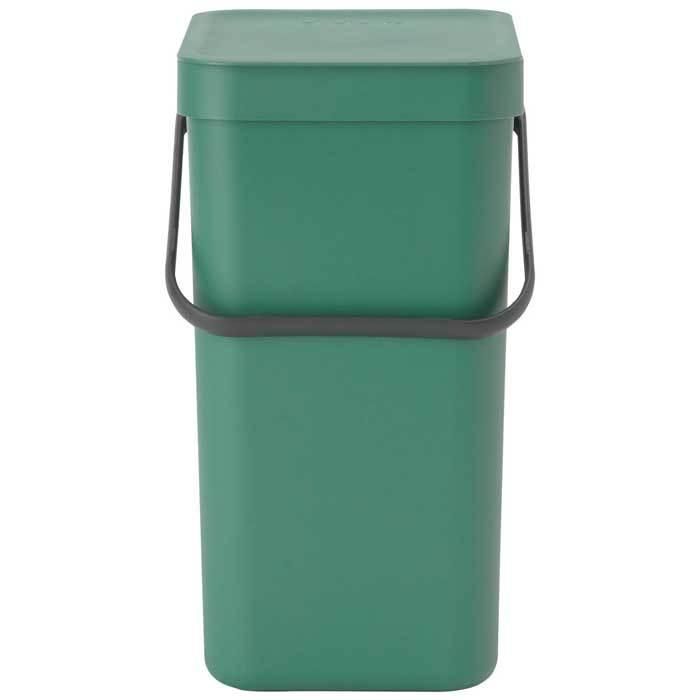 Встраиваемое мусорное ведро Sort & Go (12 л), Темно-зеленый, арт. 129803 - фото 1