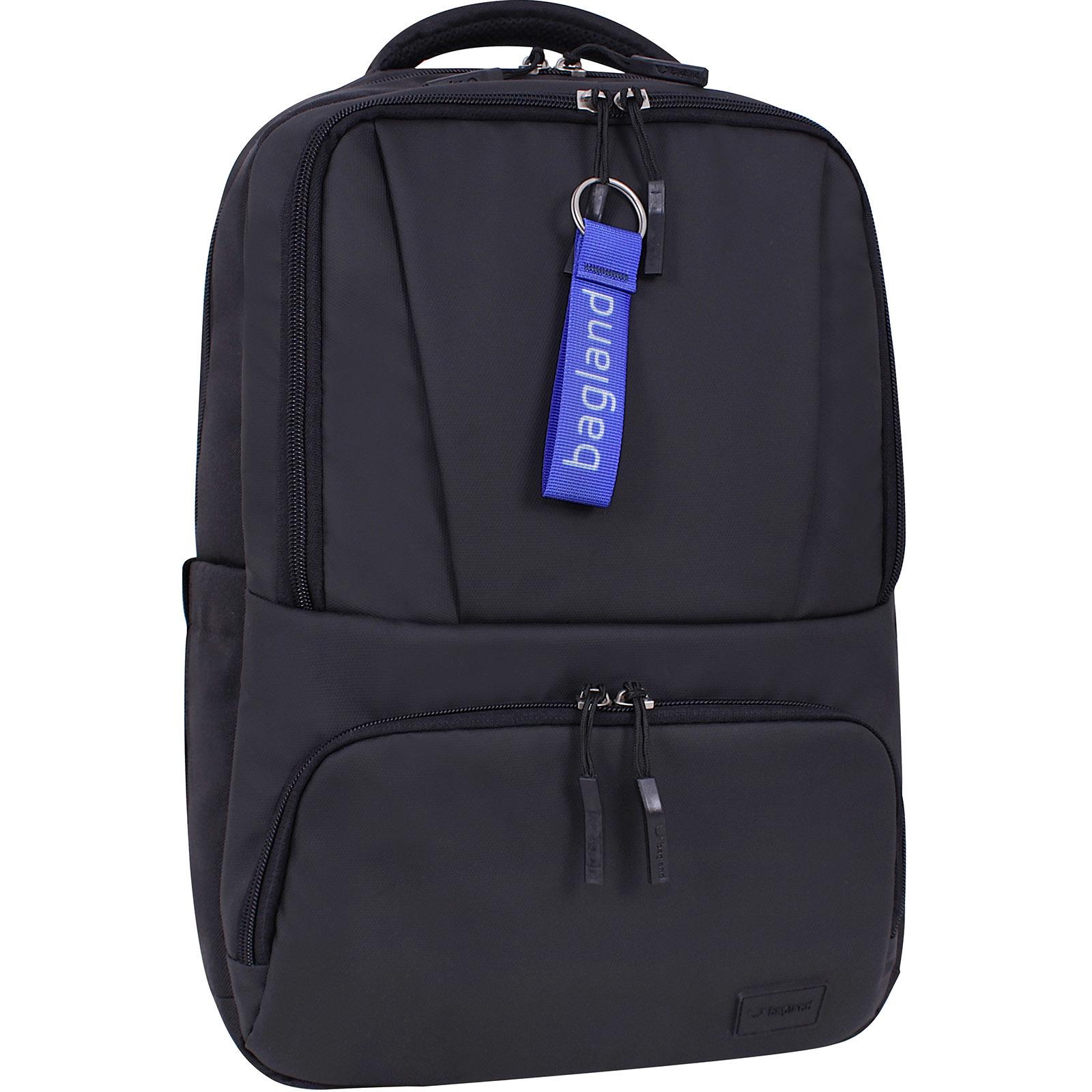 Мужские рюкзаки Рюкзак для ноутбука Bagland STARK черный/кожзам (0014366) IMG_7219.jpg