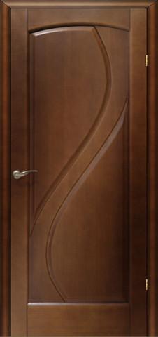 Дверь Танго ПГ (светлый анегри, глухая шпонированная), фабрика LiGa