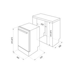 Посудомоечная машина Maunfeld MLP-08B схема