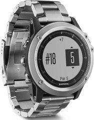 Часы Garmin Fenix 3 HR Silver с титановым браслетом