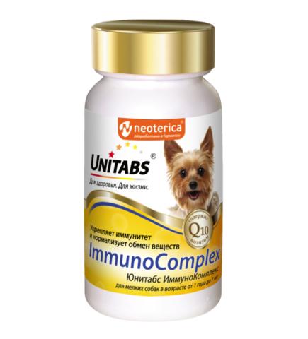 ЮНИТАБС ImmunoComplex для иммунитета для мелких собак, 100 таб.