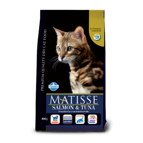 Farmina MATISSE Adult Salmon & Tuna Сухой корм для кошек с Лососем и Тунцом