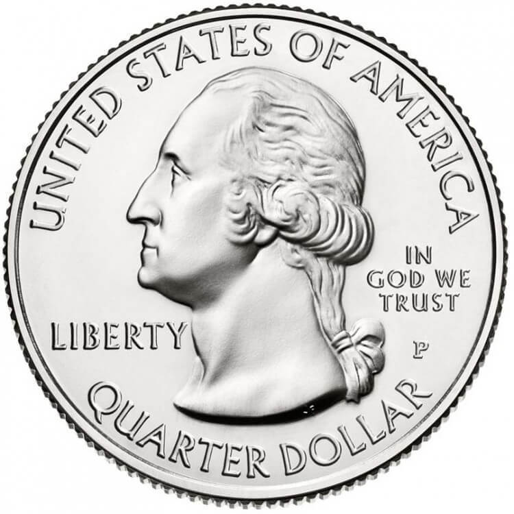 25 центов 26-й парк США Гомстед 2015 год (двор P)