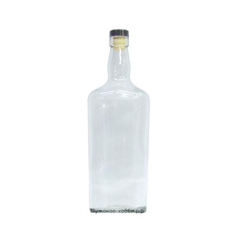 Бутылка 0,7 л Вискарная с пробкой