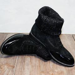 Ботинки женские осень Kluchini 5161 k255 Black