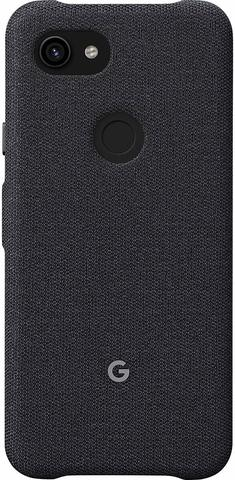 Чехол Google Pixel 3a Fabric Case, Carbon (Черный)