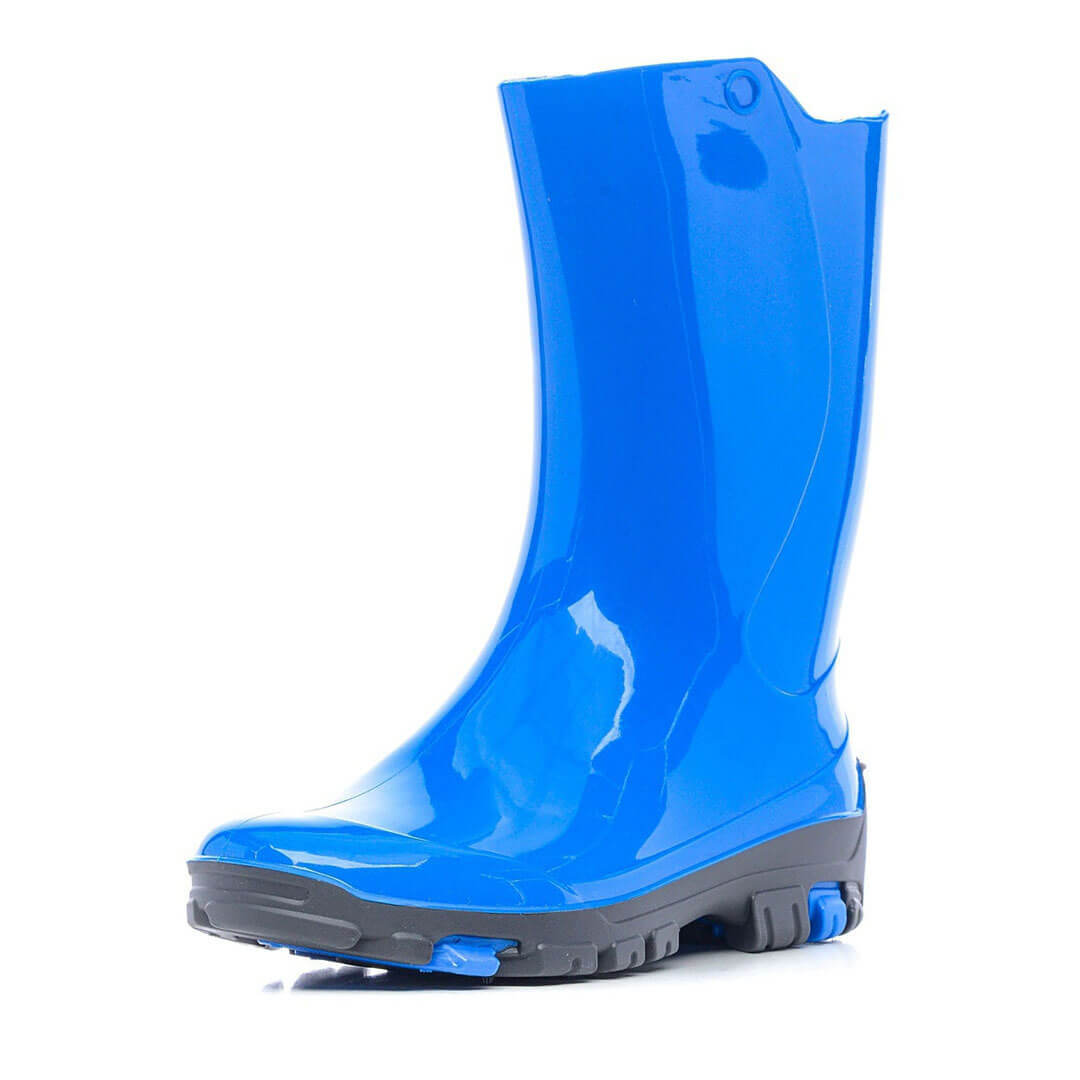Детские сапоги Nordman Rain резиновые голубые