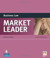 Market Leader 3Ed Business Law