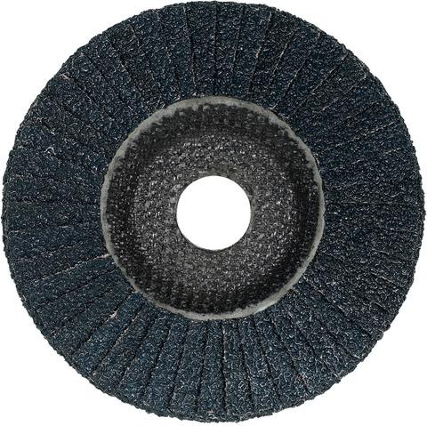 Круг шлиф. лепестковый V4 Master, (ZA) тарелка из стеклопластика, скошенный для стали и нерж. стали ⌀ 125 мм