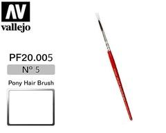 BRUSH,PONY HAIR,No.5