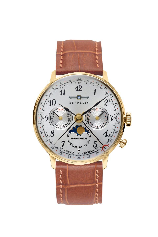 Женские часы Zeppelin Hindenburg Moonphase 70391