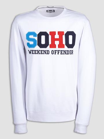 Мужская толстовка Weekend Offender Soho White