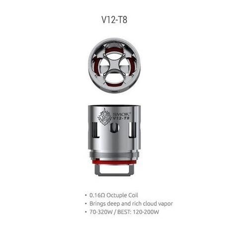 Сменный испаритель SMOK TFV12 V12-T8 0,16 Ω