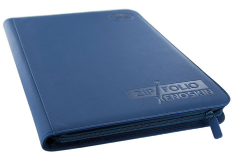 9-Pocket ZipFolio XenoSkin Blue