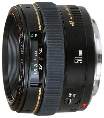 Canon EF 50mm f/1.4 USM (JAPAN)