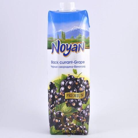 Нектар из черной смородины и винограда Noyan, 1л