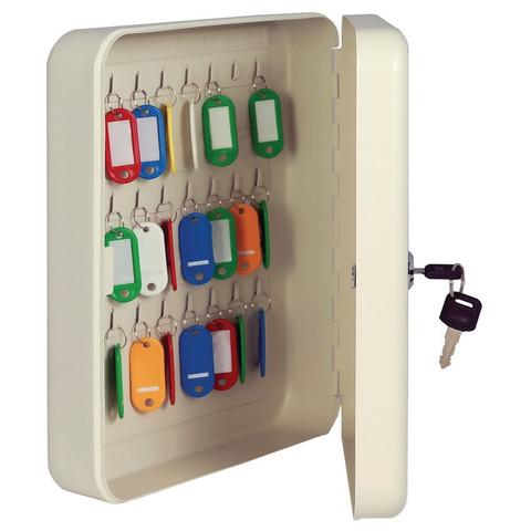 Шкаф для ключей Onix К-48 серый (на 48 ключей, металл)