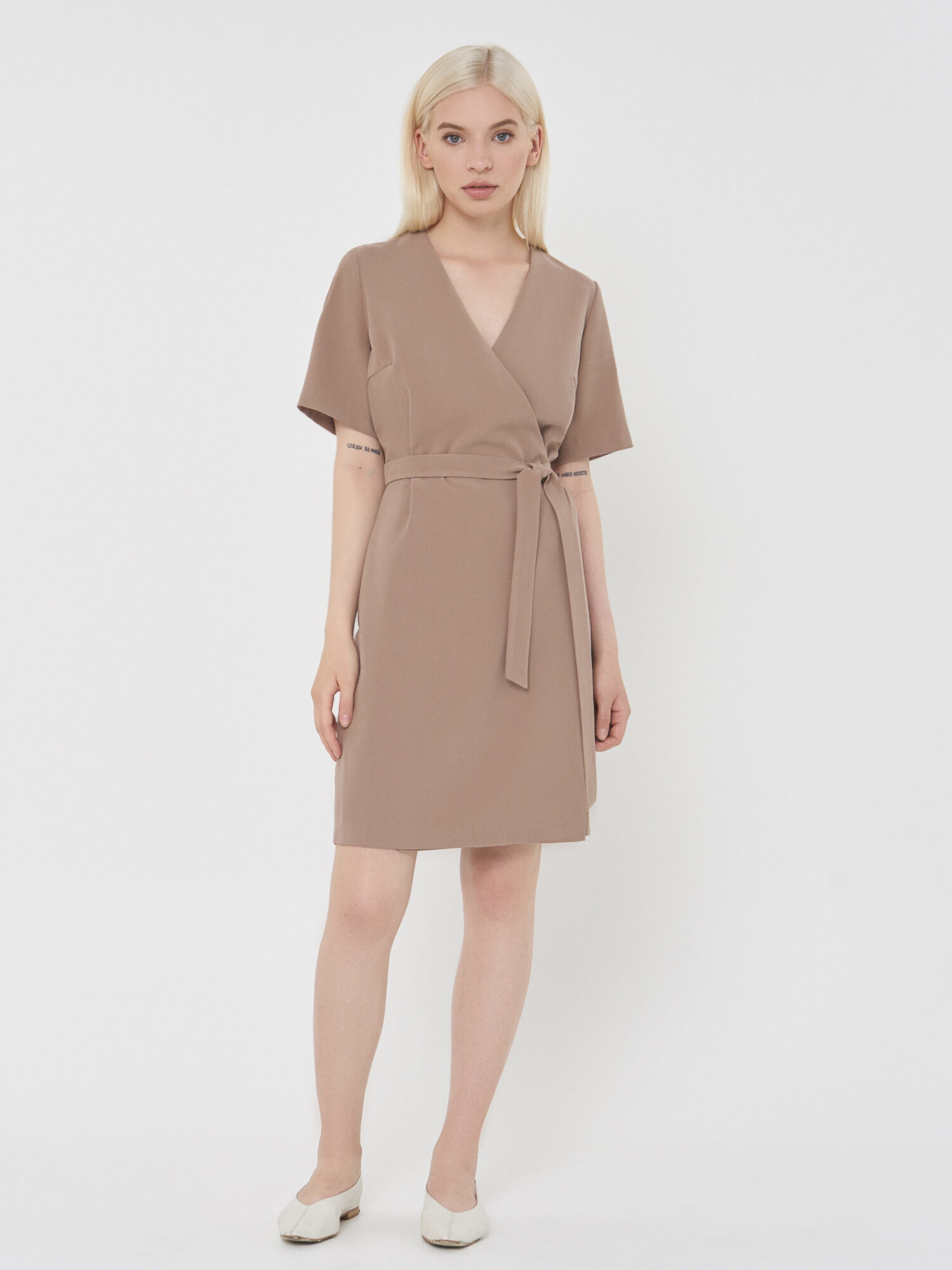 Платье Rita мини на запах