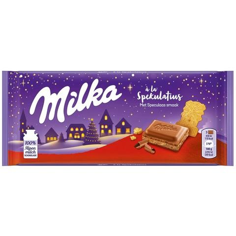 Шоколадная плитка Milka Spekulaas Gingerbread 100 гр