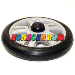 Колесо для детской коляски №005092 не надув, наружный диаметр 163 мм, на ось 8мм Цвет: СЕРЫЙ