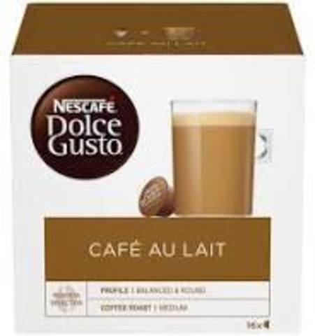 Кофе в капсулах Nescafe Dolce Gusto Cafe Au Lait, 16 капс.