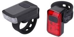 Велофонари комплект BBB Spark 2.0 Black