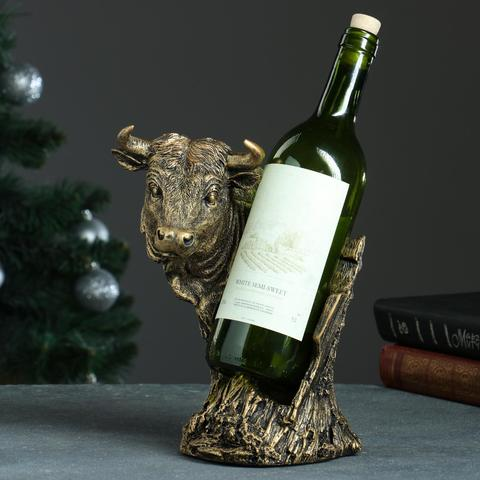 Подставка под бутылку «Бык»