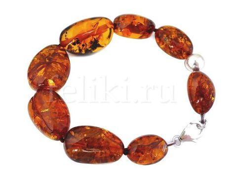 браслет из янтаря (б-1087)