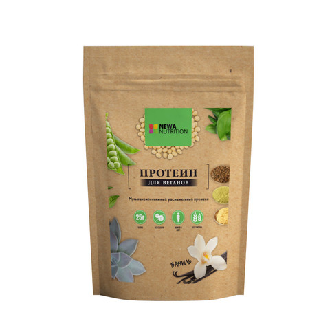 Newa Nutrition растительный протеин Ваниль 700 г