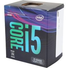 Процессор Intel Core i5-8400 Coffee Lake [Box] (2800MHz, LGA1151 v2, L3 9216Kb)