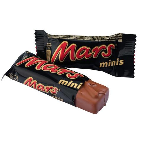 Шоколадные батончики Mars Minis 1 кг