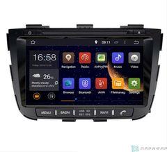 Штатная магнитола 4G/LTE с DVD для Kia Sorento 2 12+ на Android 7.1.1 Parafar PF224D