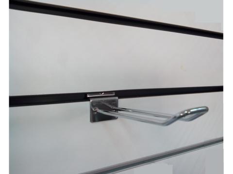 Крючок двойной для экономпанели 250 мм d.4,5 mm  хром, ЭП 012 - 250