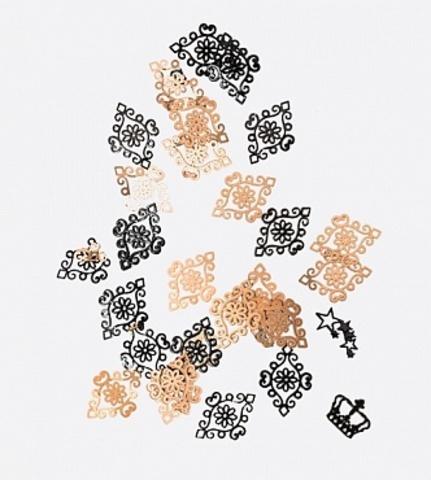 ARTEX кружевной ромб черный 0,2 гр. 07320015