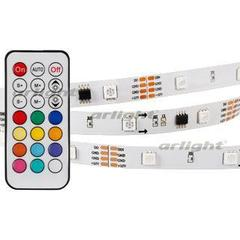 Лента SPI-5000-5060-30 12V Cx3 RGB-Remote (10mm, 7.2W, IP20)