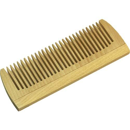 Расческа деревянная маленькая