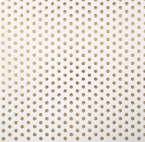 Бумага для скрапбукинга с фольгированием «Крупный горох», 30.5 × 30.5 см, 250 г/м