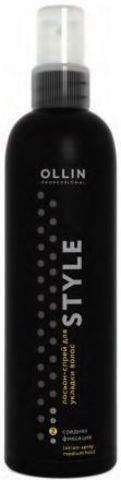 Ollin Style Лосьон спрей для укладки волос средней фиксации 250 мл