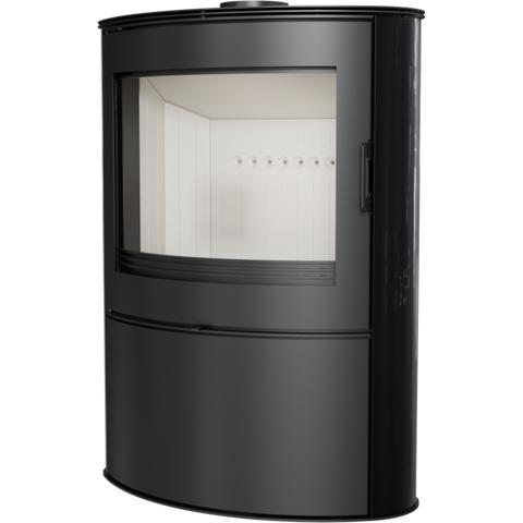 Печь-камин Kratki KOZA/AB/S/2/KAFEL (Кафель белый, черный, кремовый) (10 кВт) Под заказ