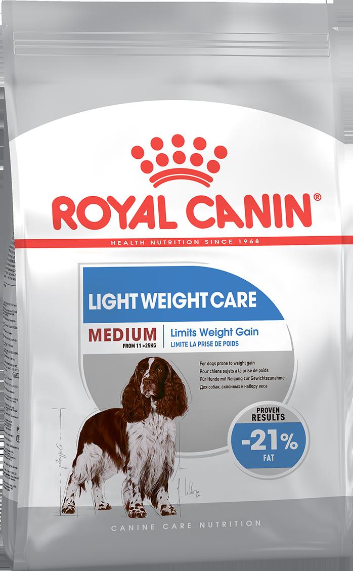 Сухой корм Корм для собак, Royal Canin Medium Light Weight Care, склонных к набору весу 389030.png