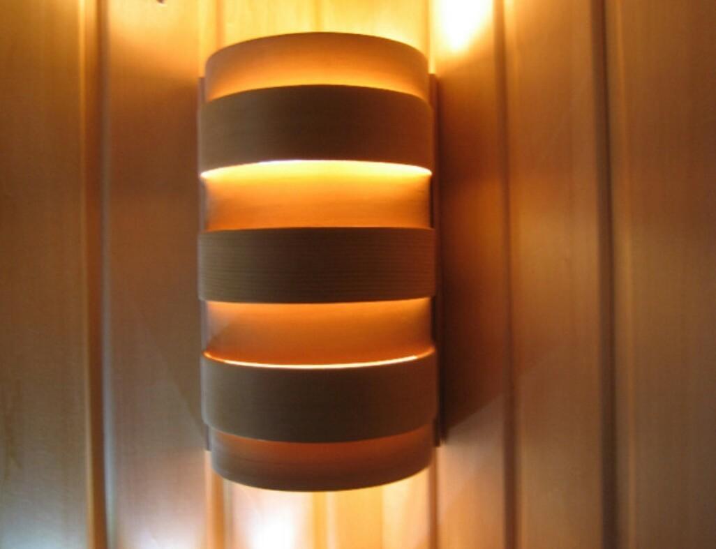 Абажур для светильника SAWO 917-A (закруглённый)