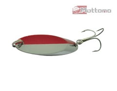 Блесна Mottomo Skill Blade MS6019 28г Silver With Red