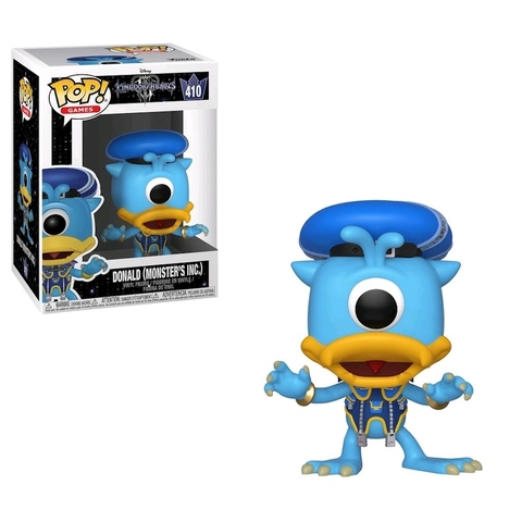 Donald (Monster's Inc.) Kingdom Hearts Funko Pop! Vinyl Figure ||  Дональд